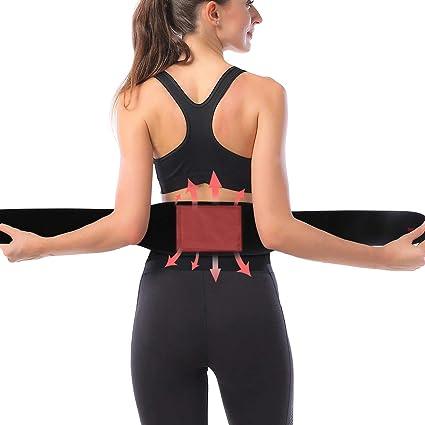 Manta electrica abdomen