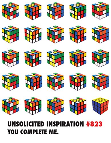 (Quiplip UI566PCK Unsolicited Inspiration Love Cards Rubik's Cube, 6-pack)