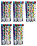 Raymond Geddes Its your Birthday Pencil, 72 Pack (69608) (Расk оf Fіvе)