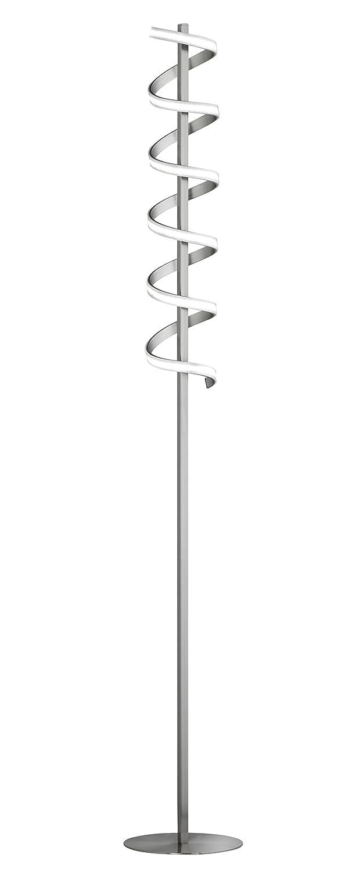 Honsel Leuchten Stehleuchte, Metall, 18.4 W, Chrom, 22 x 22 x 151 cm
