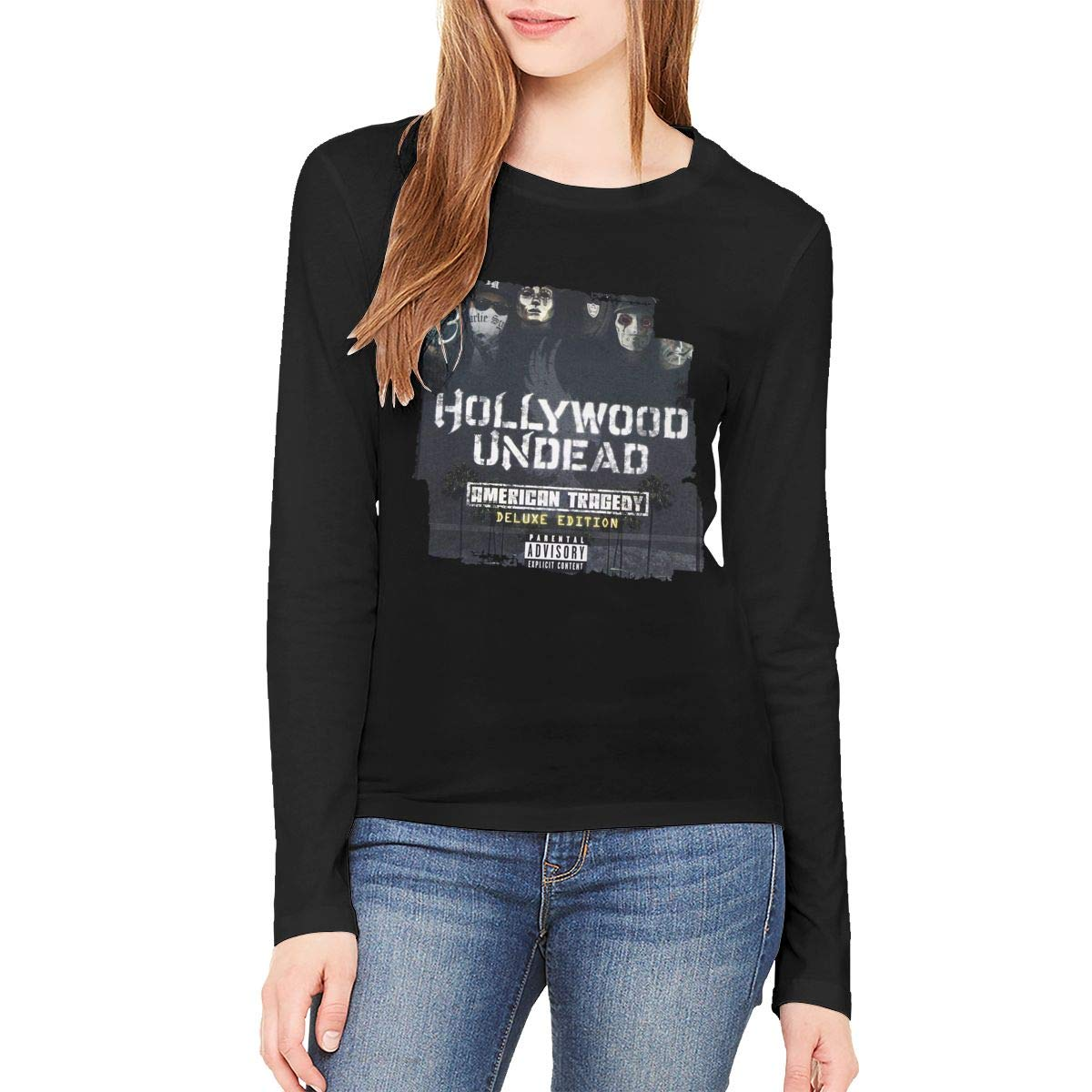 Kaceo S Hollywood Undead American Tragedy Black Shirts
