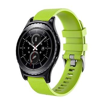 ZAVAREA - Correa de Repuesto de Silicona para Reloj Samsung Gear ...
