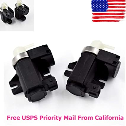 Amazon com: 2 New Turbo Boost Solenoid Valve for BMW F01 750i E90