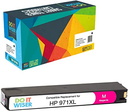 Do It Wiser Compatible Ink Cartridge Replacement For Hp 971xl Officejet Pro X476dw Mfp X576dw Mfp X476dn Mfp X551dw X451dw X451dn Magenta Amazon Co Uk Office Products