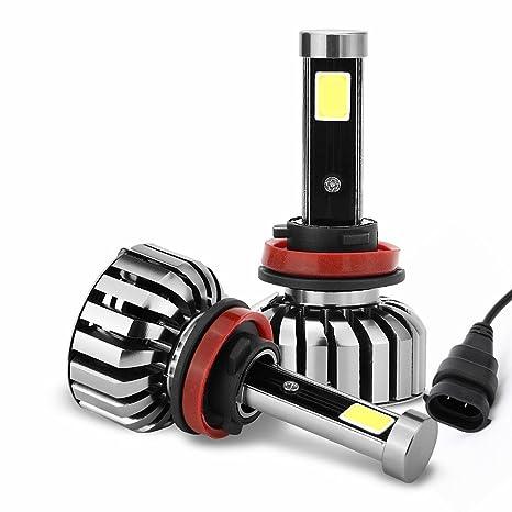 Eforcar coche LED bombillas para faros delanteros, con avanzada (Chip (80 W/