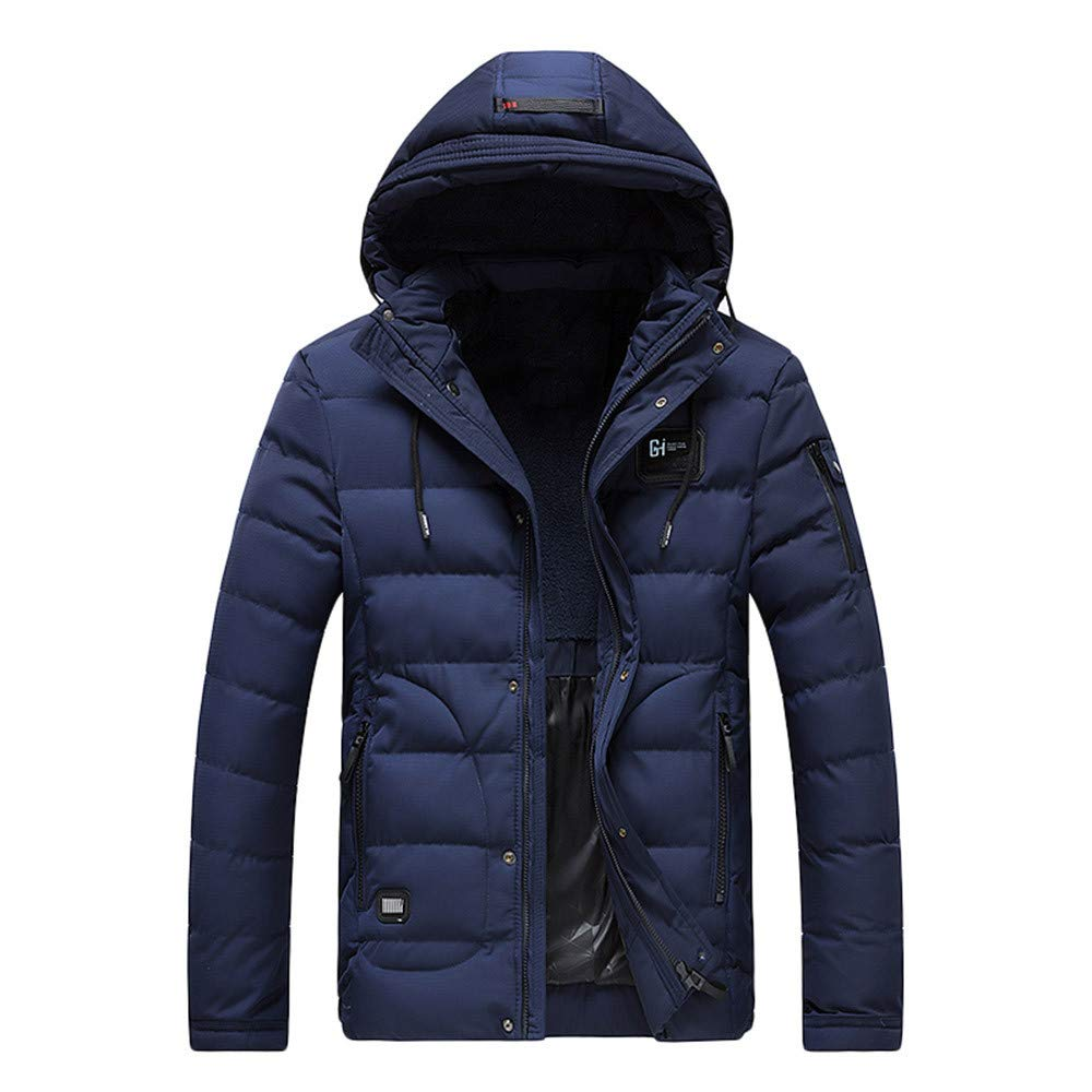 conqueror Subfamily Homme Veste à Capuchon Blousons Chaud Veste Zip Hiver Rechargeable réglages Chaleur Veste Rembourrée en Coton Gilet Slim Fit Manteau Trench-Coat Chaud Jacket Outwear Coat
