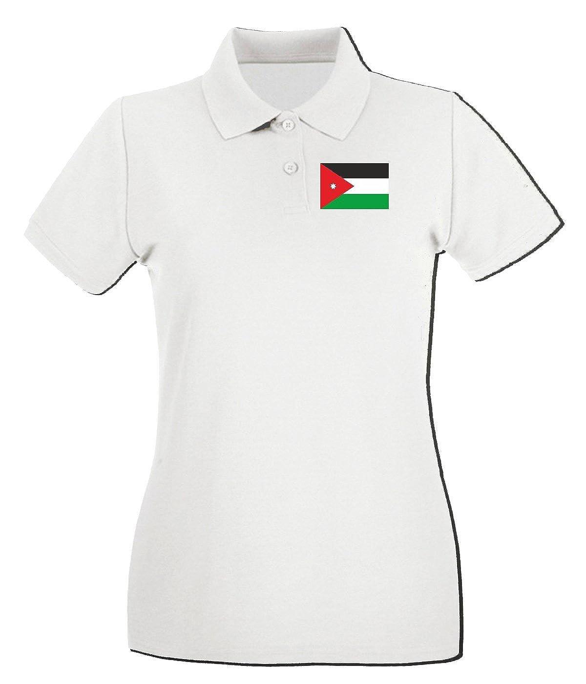 T-Shirtshock - Polo para Mujer TM0203 Jordan Flag Flag, Talla L ...