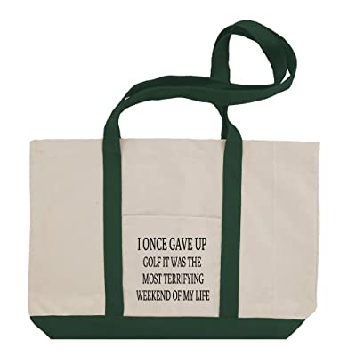 The Most Terrifying Weekend Of My Life Cotton Canvas Boat Tote Bag Tote