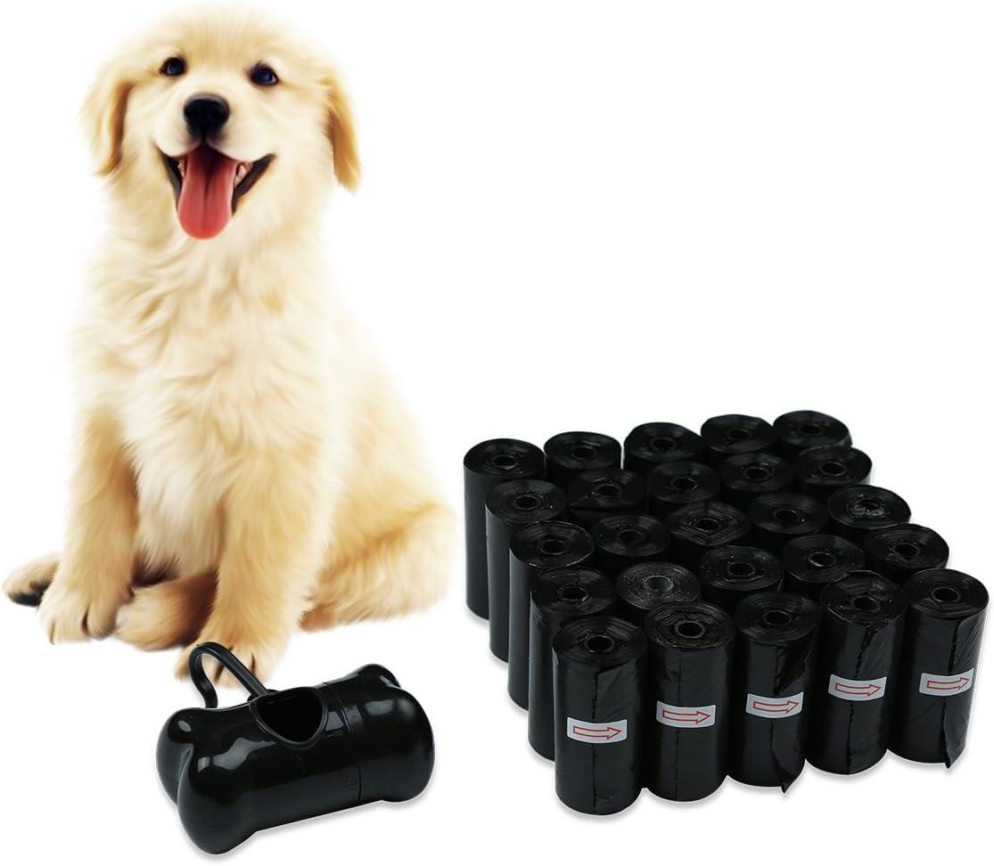40x Sacs Poubelle Sacs Déjection Canine avec Distributeur pour Chien