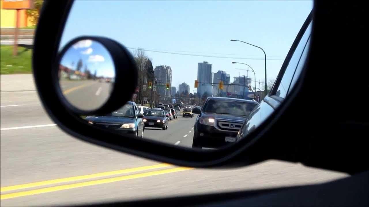2 Pack Convexo Punto Ciego Espejo Espejos Remolque Conducción De Marcha Atrás Auto Adhesivo