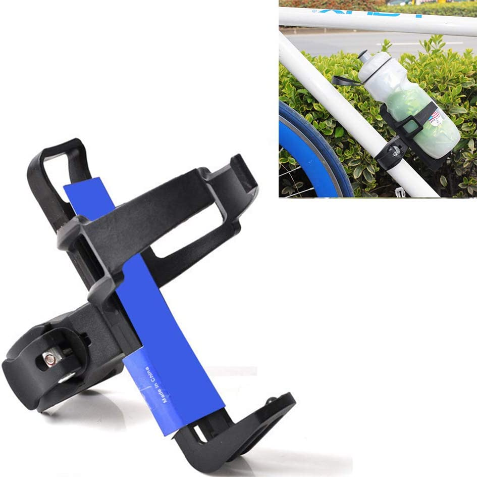 Hooshion Bicycle Quick Release Kettle Holder Multi-Purpose Rotatable Bicycle Water Cup Holder Mountain Bike Children Stroller Beverage Rack