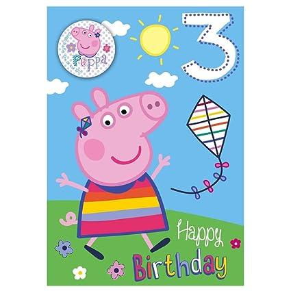 Carte anniversaire peppa pig gratuite