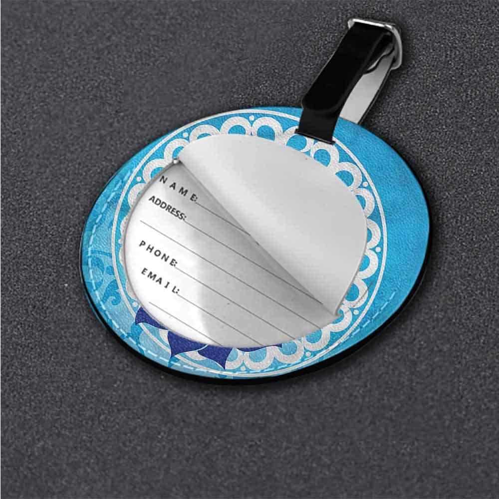 Baggage Tag Chakra,Vintage Chakra Power Boho Creative gifts