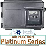 Air Injection Platinum 20 with Fleck 2510SXT Vortech Tank and 3/4'' Bypass - AIP20V-25SXT-34 - For Iron Hydrogen Sulfide Rotten Egg Odor Manganese