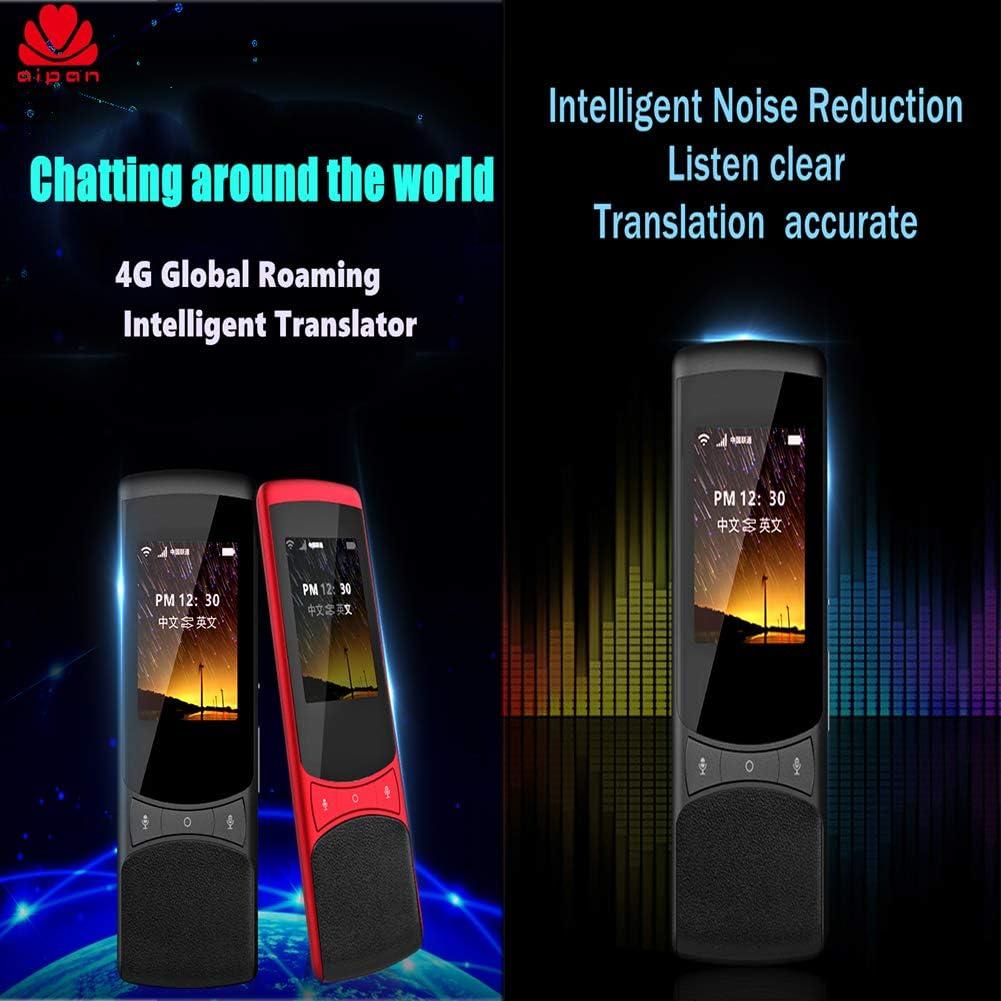 WFIZNB Touch-Screen Translator 75 Language Global Travel Z1 4G SIM 4G global Netcom+Camera,Black