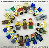 Grab Bag Lot of 10 Lego Minifigures Figures Men People Minifigs