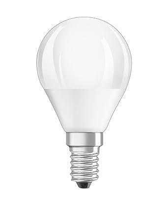 OSRAM LED SUPERSTAR Ampoule LED, Forme sphérique, Culot E14, Dimmable, 6W Equivalent