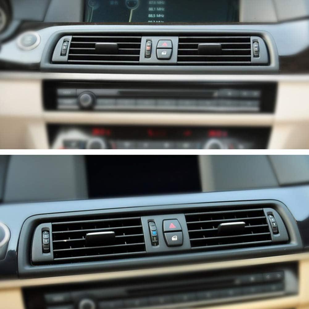 Auto-Frontkonsole K/ühlergrill Dash AC-Entl/üftung Konsole Mitte ABS Auto-Luftauslass-Entl/üftungsgitter-Ersatzteil for BMW F10 F11 F18 5er