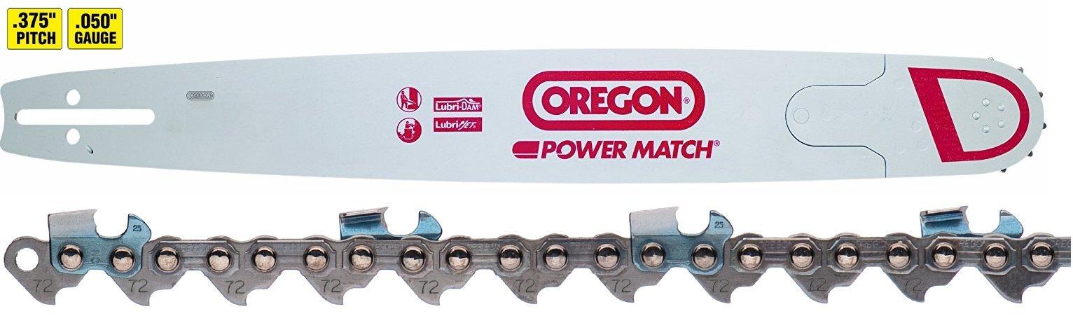 Oregon 300RNDD009 30'' Chainsaw Bar + 72JGX098G Chainsaw Chain Loop Combo