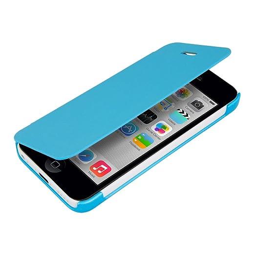 46 opinioni per kwmobile Cover per Apple iPhone 5C- Custodia protettiva apribile a libro Case