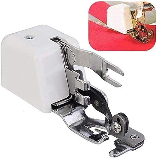 Cortador lateral de la máquina de coser, prensatelas Overlock, accesorio de coser y dobladillo de corte lateral II ...