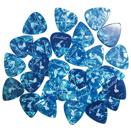 - Vencetmat Guitar Picks Medium For Acoustic & Electric Guitar & Ukulele & Banjo & Mandolin 25 Pcs