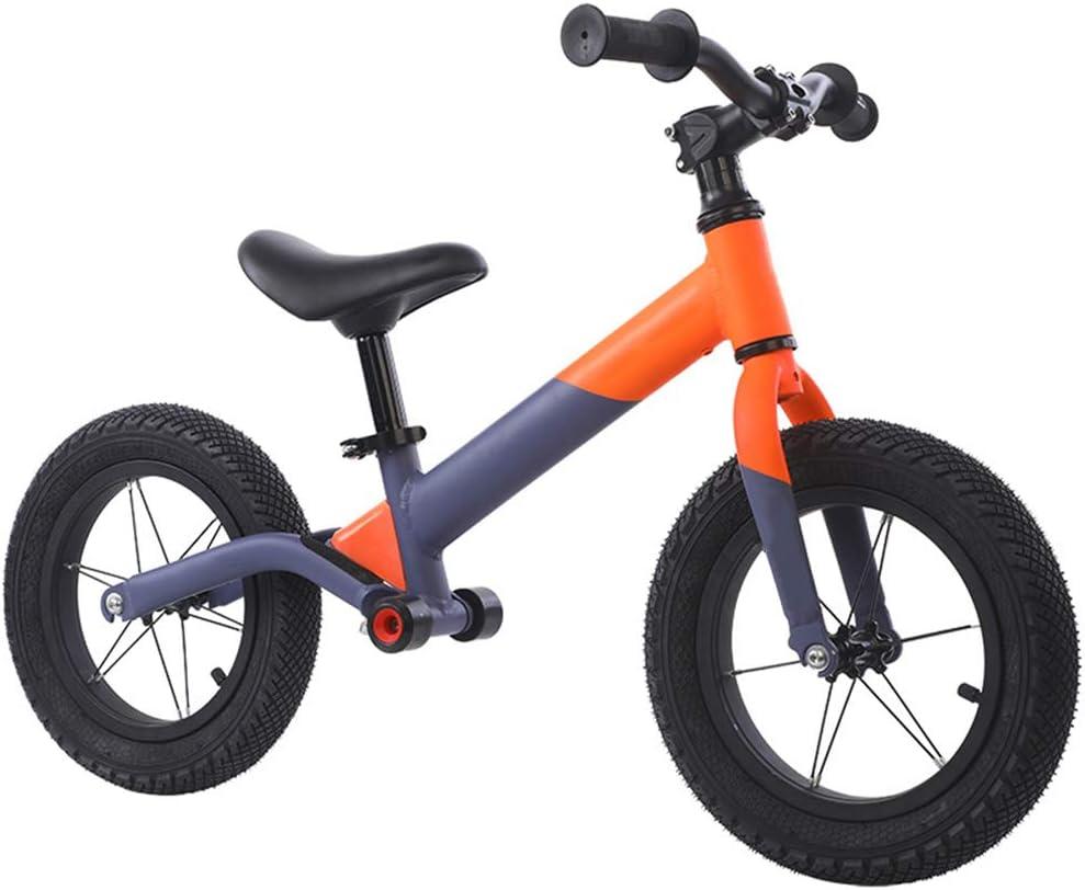 DREAMyun Bicicleta sin Pedales para niños y niñas 3-6 años | Bici con Ruedas de 12