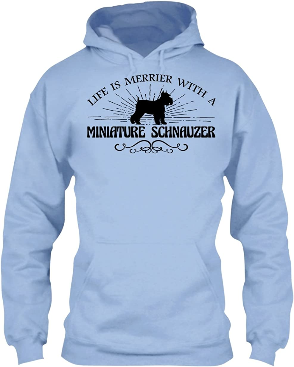 Sweatshirt Design Cool Loves Schnauzer Tshirt