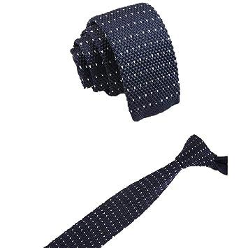 Xuxuou - Corbata de Punto para Hombre, Estilo Informal, para Fotos ...