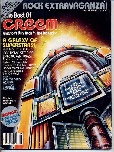 (Best of Creem Magazine PATTI SMITH Jimmy Page FLEETWOOD MAC Linda Ronstadt KISS Peter Frampton KEITH RICHARDS Spring 1978 (Creem Magazine))