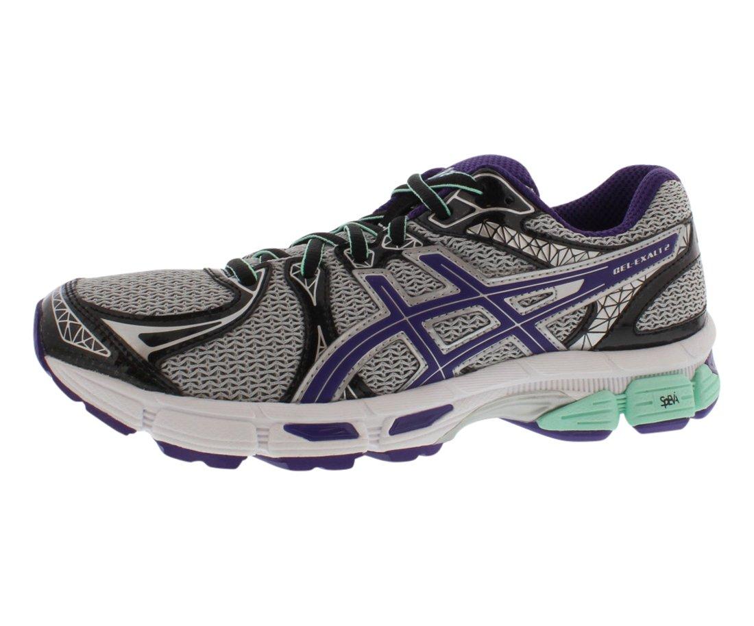 Asics Women's GEL-Exalt 2 Grey/Purple/Beach Glass Running Shoe - 5 B(M) US