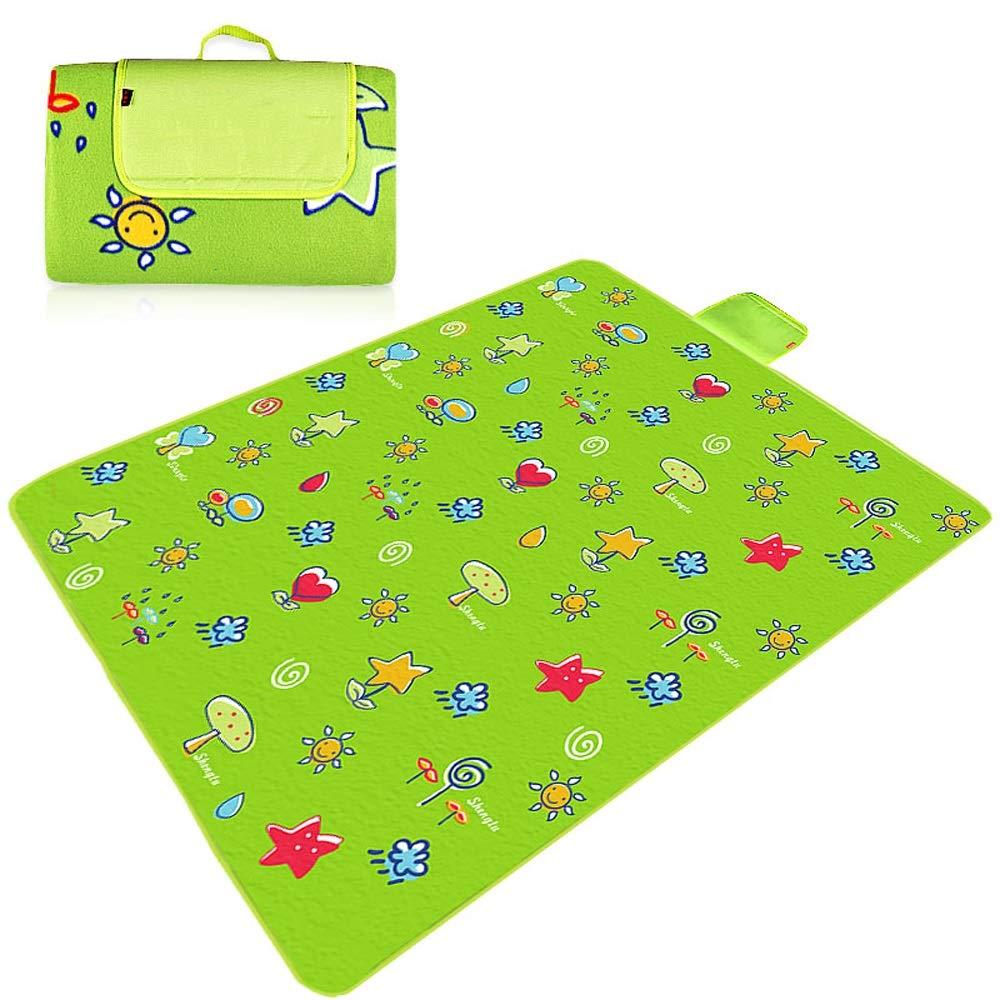 TSDS Tragbare Picknick-Matte im Freien kampierende feuchtigkeitsfeste Matte grün Comftable Strandmatte B07PW4N4Z6 Picknickdecken Viel Spaß