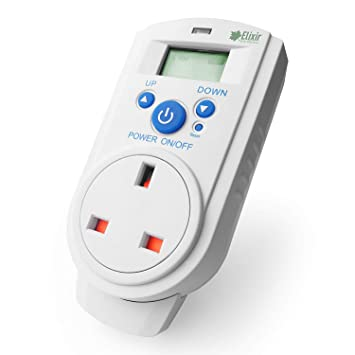 Thermo-Guard Digital Control Plugin Thermostat TH-928T
