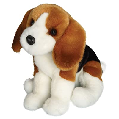 Douglas Balthezar Beagle Plush Stuffed Animal: Toys & Games