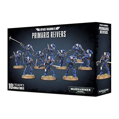 "Games Workshop 99120101186"" Space Marines Primaris Reivers Plastic Kit: Toys & Games"