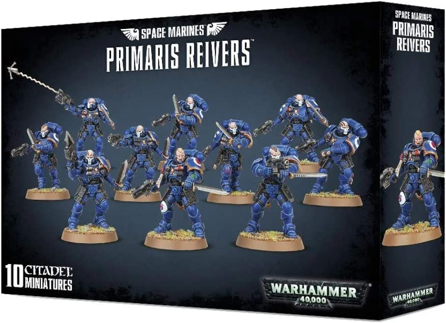 "Games Workshop 99120101186"" Space Marines Primaris Reivers Plastic Kit"