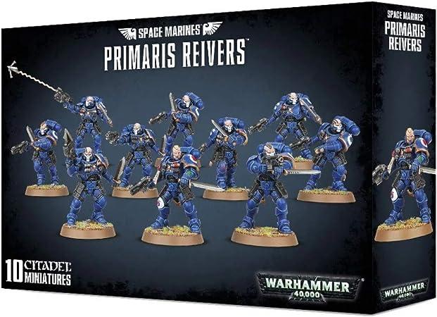 40K Space Marines /_Primaris Reiver w// Bolt Carbine Blind Buy Single Figure Bits