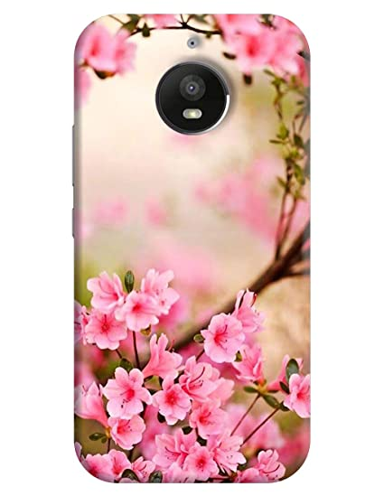 best cheap a1513 b042b FurnishFantasy Plastic Back Cover for Motorola Moto E4 Plus(Pink)