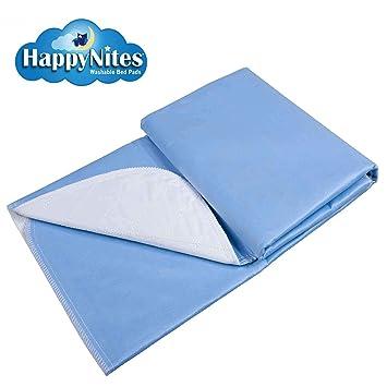 HappyNites Almohadillas para mojar la cama -1500ml Grande 36x52 Protector colchón a para la incontinencia, Almohadilla lavable de hospital: Amazon.es: Salud ...