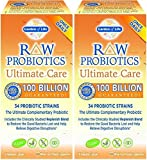 Raw Probiotics Ultimate Care-100 Billion Garden of Life 30 VCaps ( 2 pck)