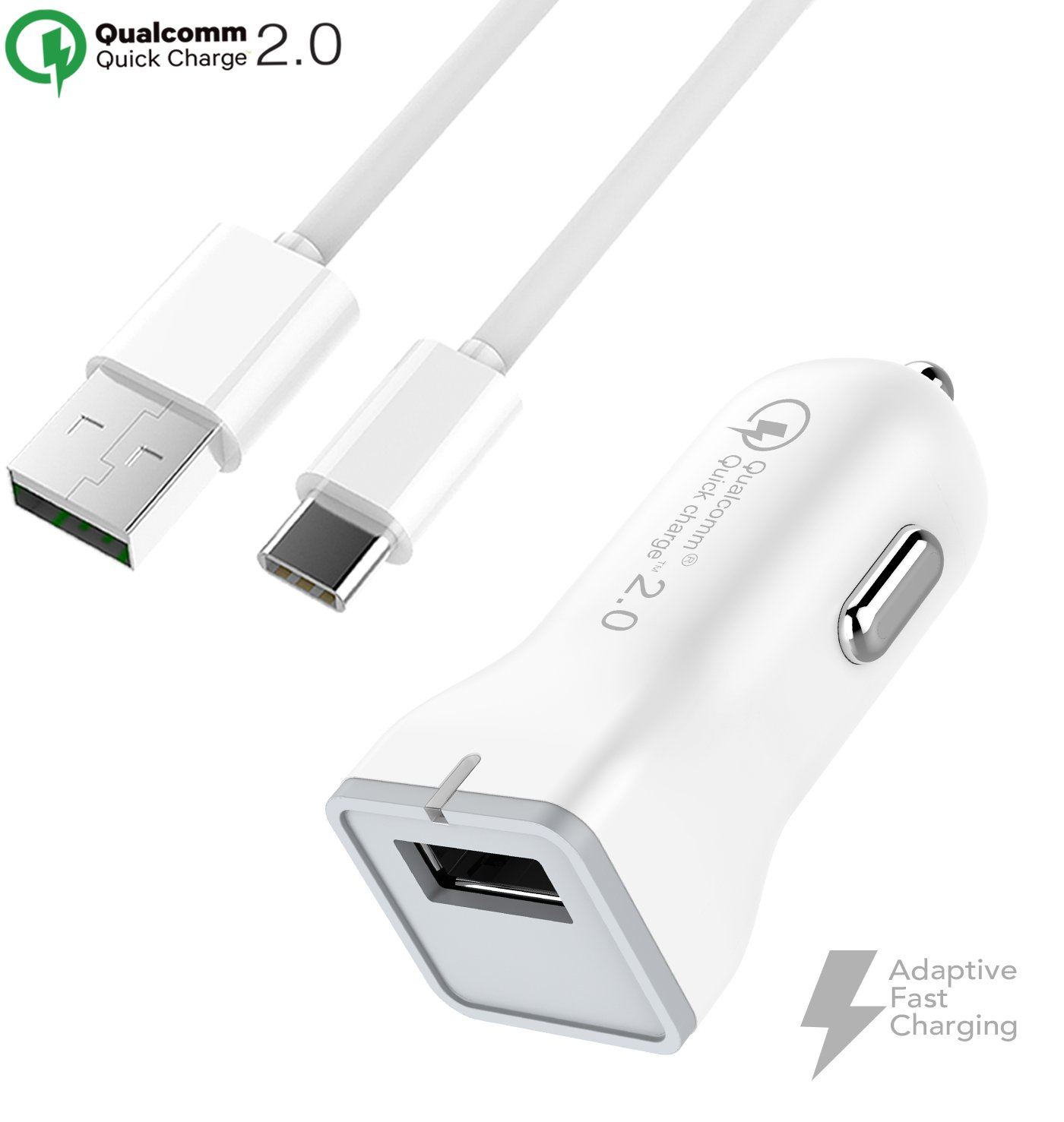 Huawei Mate 9 Cargador rápido tipo C USB 2.0 cable Kit por ...