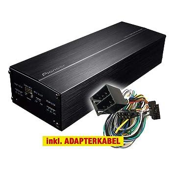 Pioneer gm de D1004 Auto/Coche Compacto Plug & Play Upgrade Amplificador/ Amplificador para