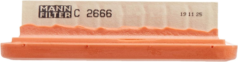Original Mann Filter Luftfilter C 2666 Für Pkw Auto