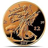 Proof Zombucks Walker 1 oz Copper Round offers