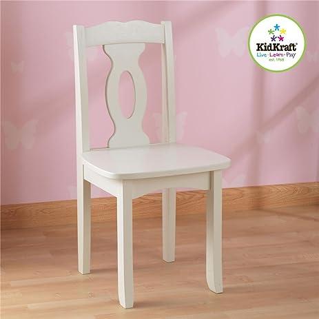KidKraft Brighton Chair - White & Amazon.com: KidKraft Brighton Chair - White: Toys \u0026 Games