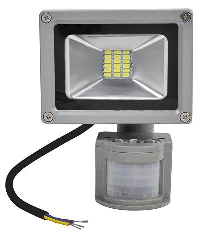 ALPHA DIMA 20W Foco LED con Sensor de Movimiento Foco Light, IP65,1500 -