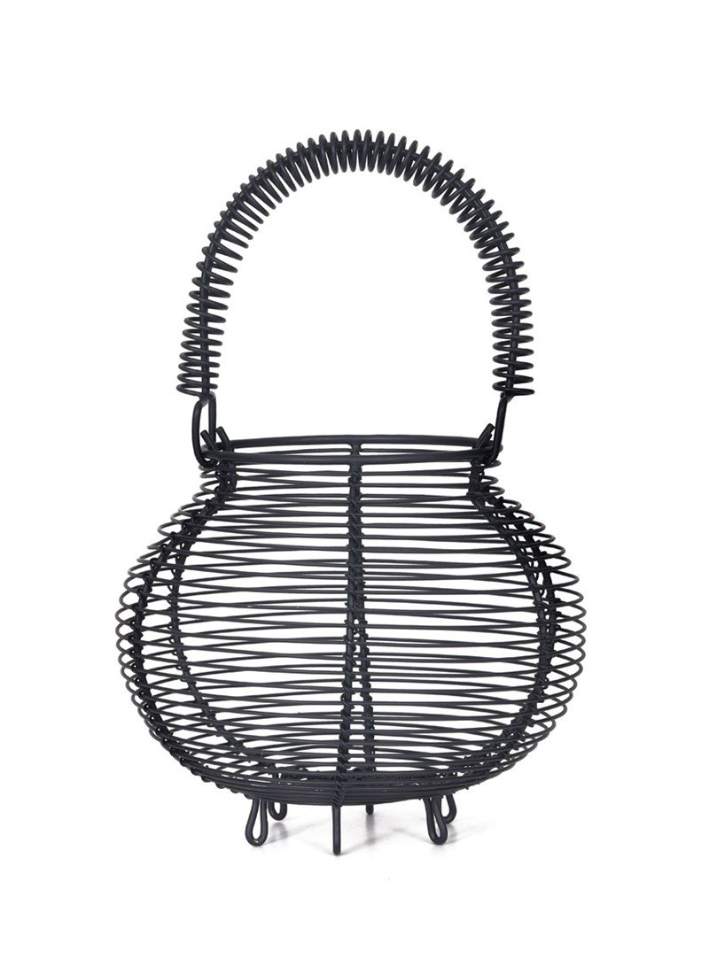 Garden Trading Egg Basket, Small in Carbon - Steel