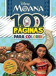 100 Paginas Para Colorir - Moana