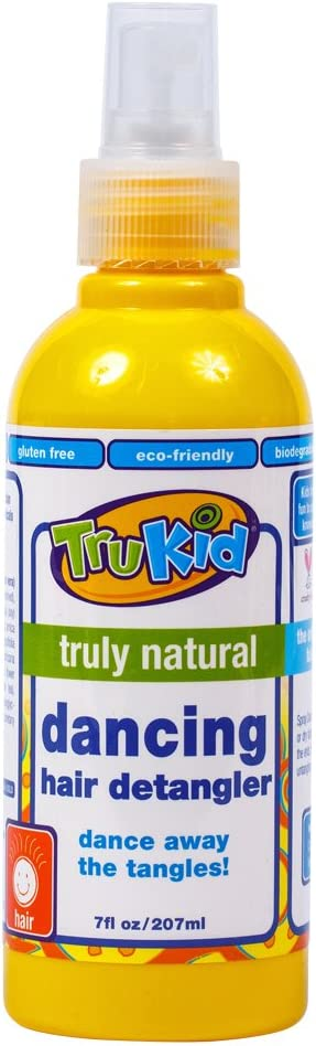 TruKid Dancing Detangler - Natural Detangling Spray, No More Knots or Dry Hair