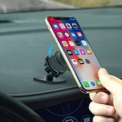 LoyaForba 360/° Rotation Air Vent Car Out Stand and Dashboard Sticker Holder for GPS Navigation Compatible with Phone MAX//X//8 Clip Car Mount Compatible Car Users Note 8//S9+
